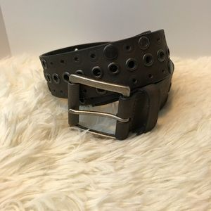 WARM BROWN LEATHER BELT SIZE 38